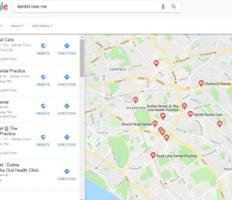 dental seo marketing: local SEO for dental practices
