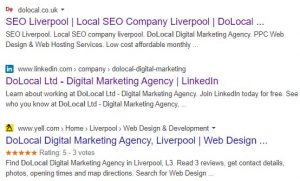 How to add a company logo to Google Site Search results