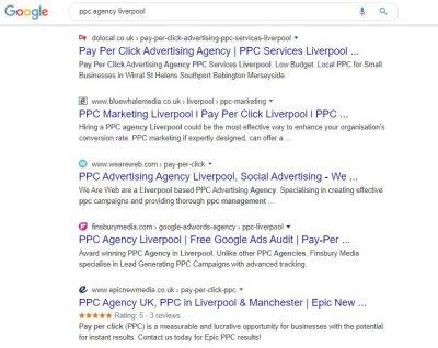 PPC agency liverpool