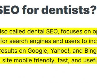 Google Highlight Feature In Search Results