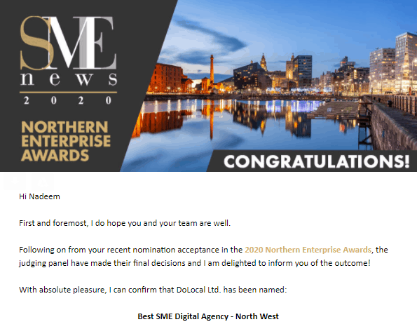 Best SME Digital Agency North West