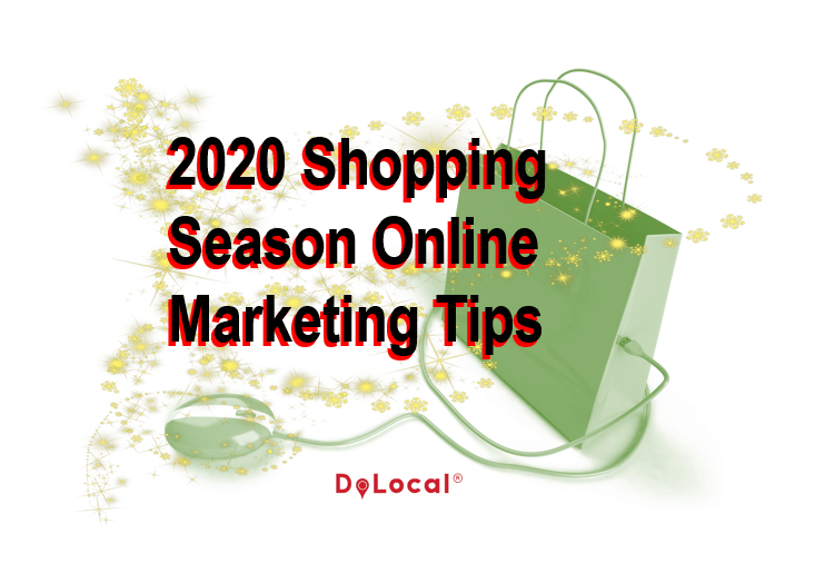 2020 Shopping Season Online Marketing Tips