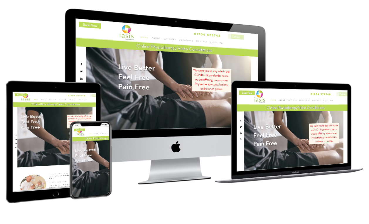 Iasis Healthcare Old Website