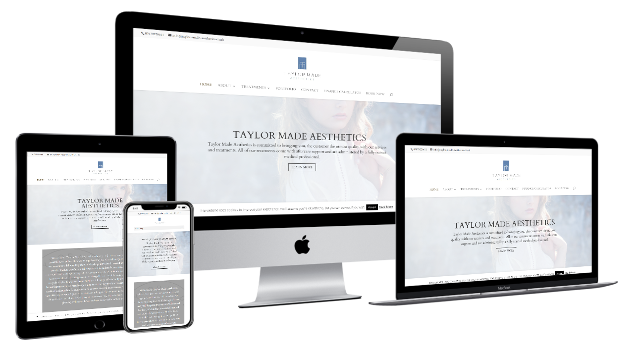 Taylor Made Aesthetics Liverpool - Old site